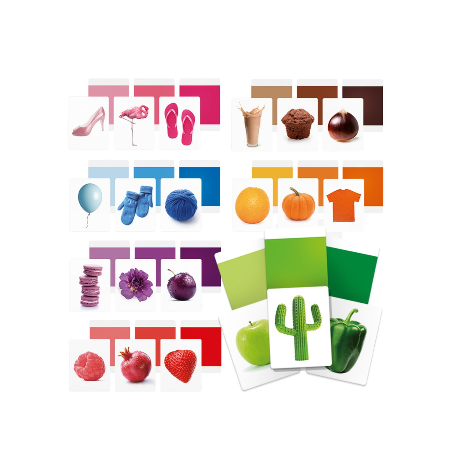 Flashcards colors montessori - HEADU