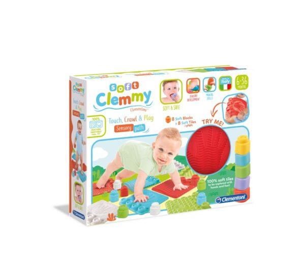 Clementoni - 17352 - SOFT CLEMMY - PERCORSO SENSORIALE CLEMMY