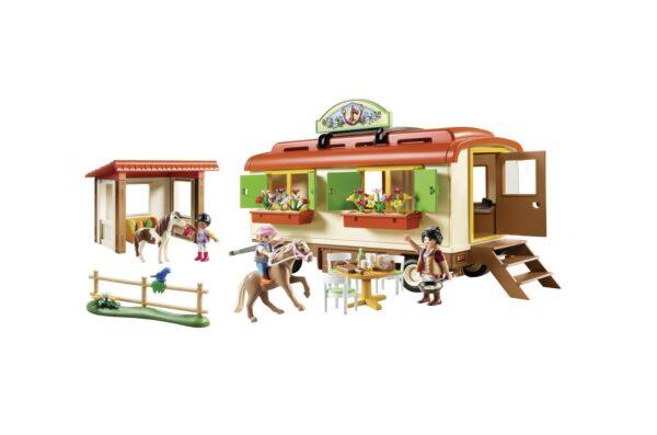 RANCH DEI PONY CON ROULOTTE    Playmobil