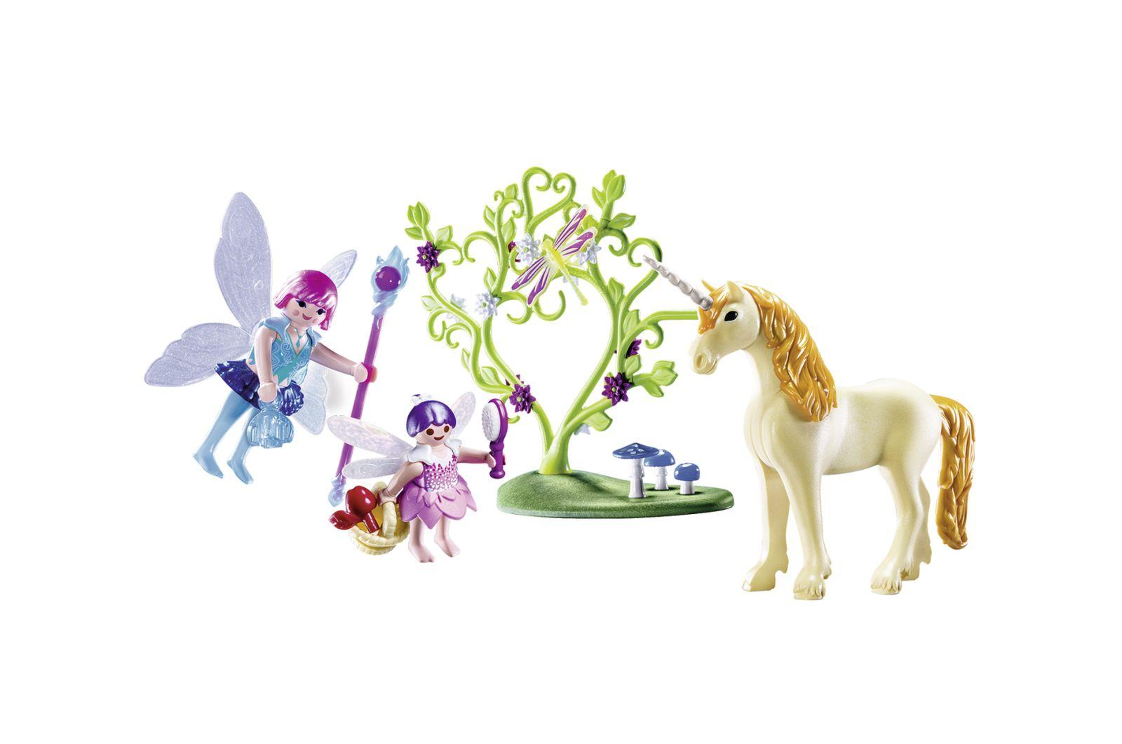 Carrying case fata con unicorno - Playmobil