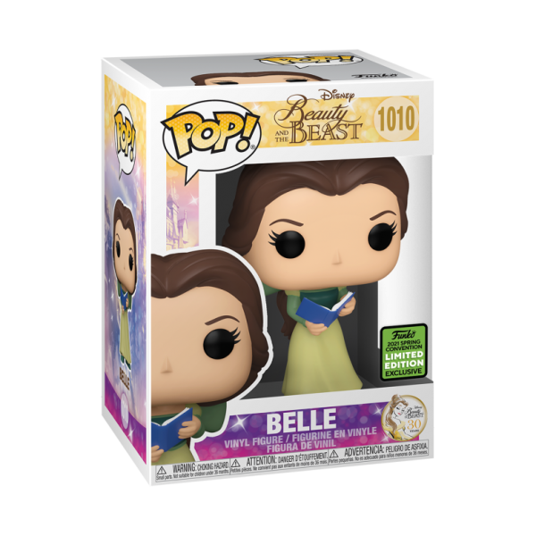 POP DISNEY: BEAUTY & THE BEAST 30TH ANNIVERSARY- BELLE CON VESTITO VERDE E LIBRO    Funko