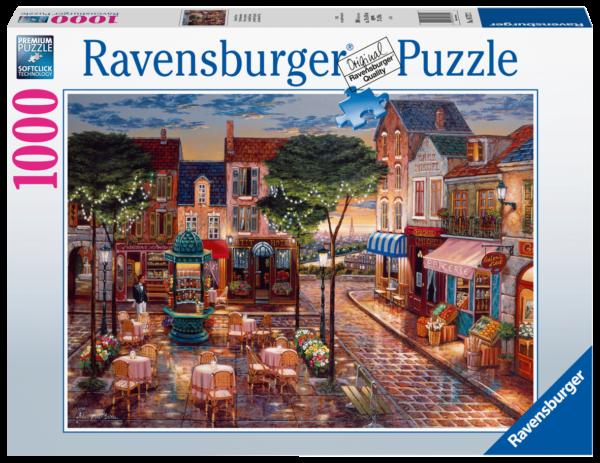 RAVENSBURGER PUZZLE 1000 PEZZI - PENNELLATE A PARIGI Ravensburger1