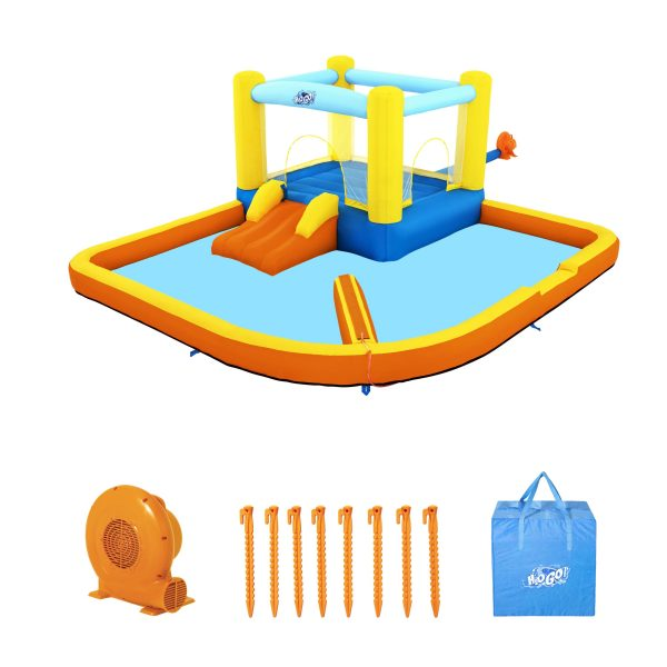 H2OGO!   Parco Acquatico Beach Bounce3.65m x 3.40m x 1.52m Bestway