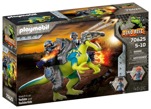 SPINOSAURO: POTERE DELLA DOPPIA DIFESA Playmobil