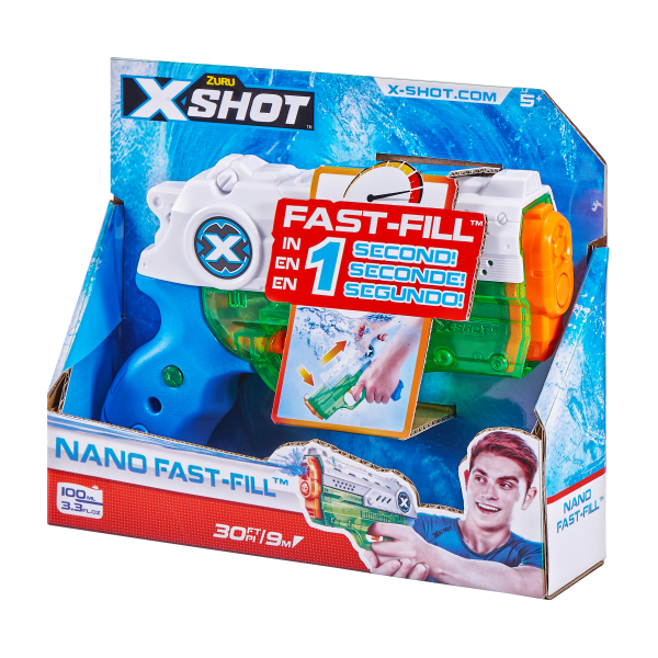 XSHOT WATER NANO FAST FILL