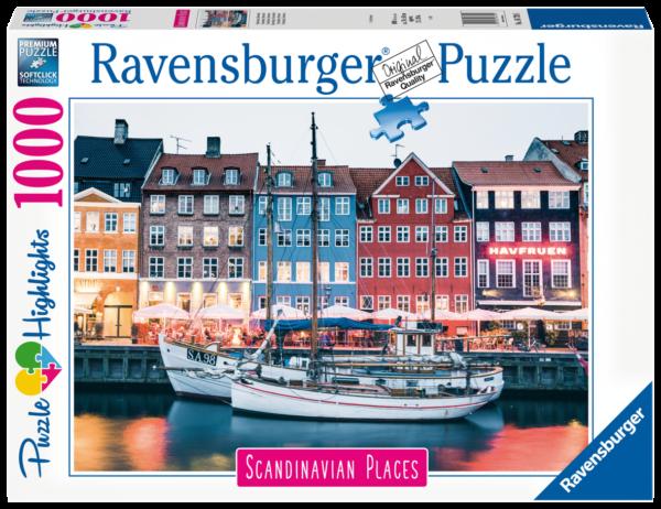 RAVENSBURGER PUZZLE 1000 PEZZI - COPENHAGEN, DANIMARCA Ravensburger1