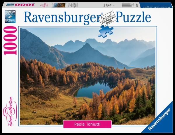 RAVENSBURGER 1000 PEZZI - TALENT COLLECTION: LAGO BORDAGLIA - FRIULI VENEZIA Ravensburger1