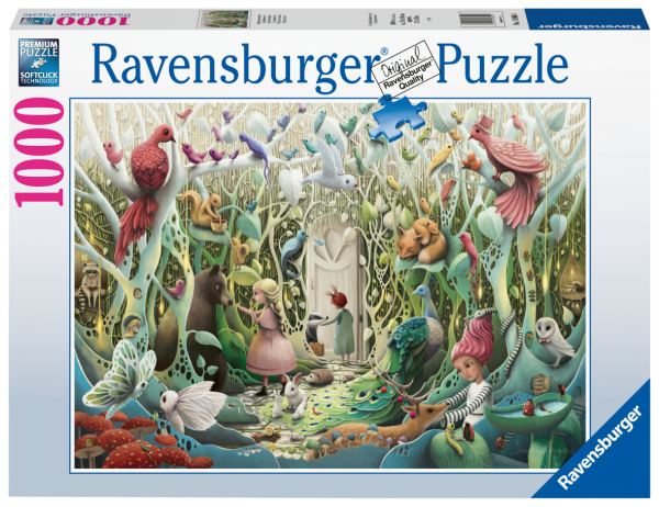 RAVENSBURGER PUZZLE 1000 PEZZI - IL GIARDINO SEGRETO Ravensburger1