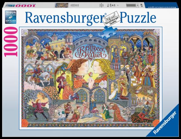 RAVENSBURGER PUZZLE 1000 PEZZI - ROMEO E GIULIETTA Ravensburger1