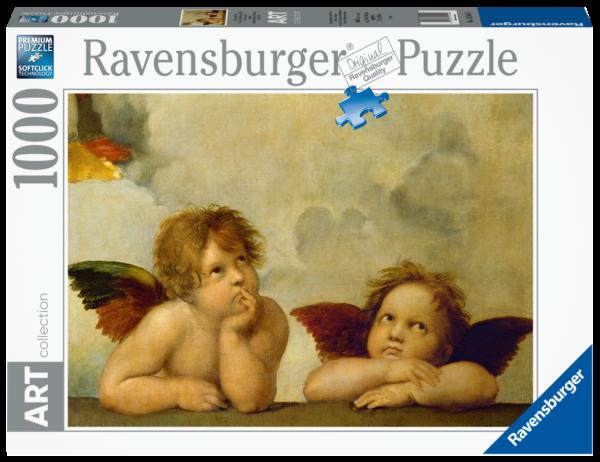 RAVENSBURGER PUZZLE 1000 PEZZI - RAFFAELLO : CHERUBINI Ravensburger1