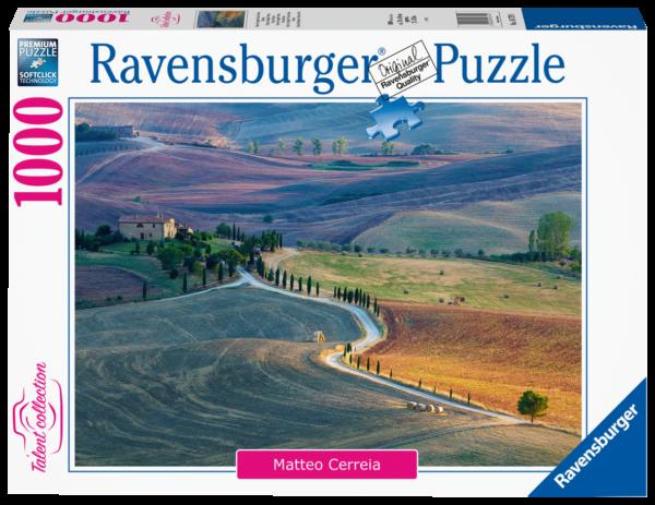 RAVENSBURGER 1000 PEZZI - TALENT COLLECTION: PODERE TERRAPILLE. PIENZA. SIENA. TOSCANA Ravensburger1