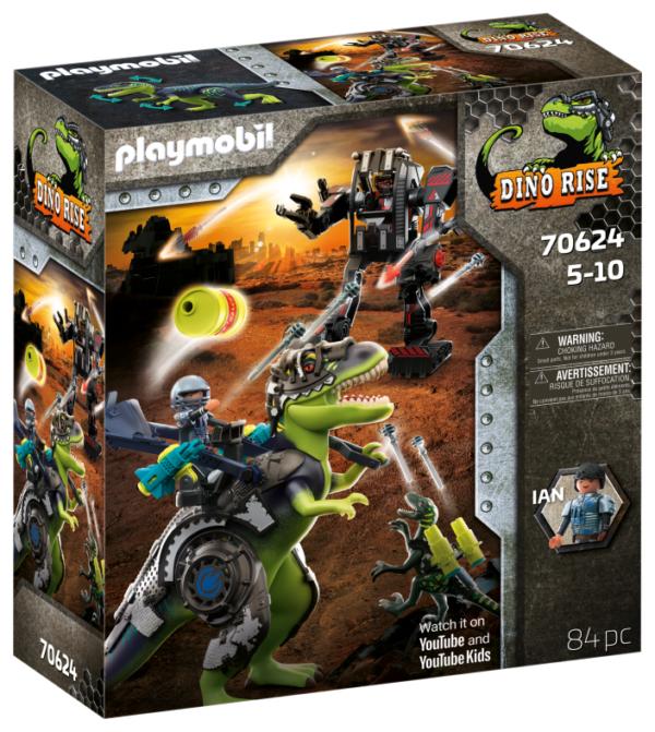 T-REX: BATTAGLIA TRA GIGANTI Playmobil