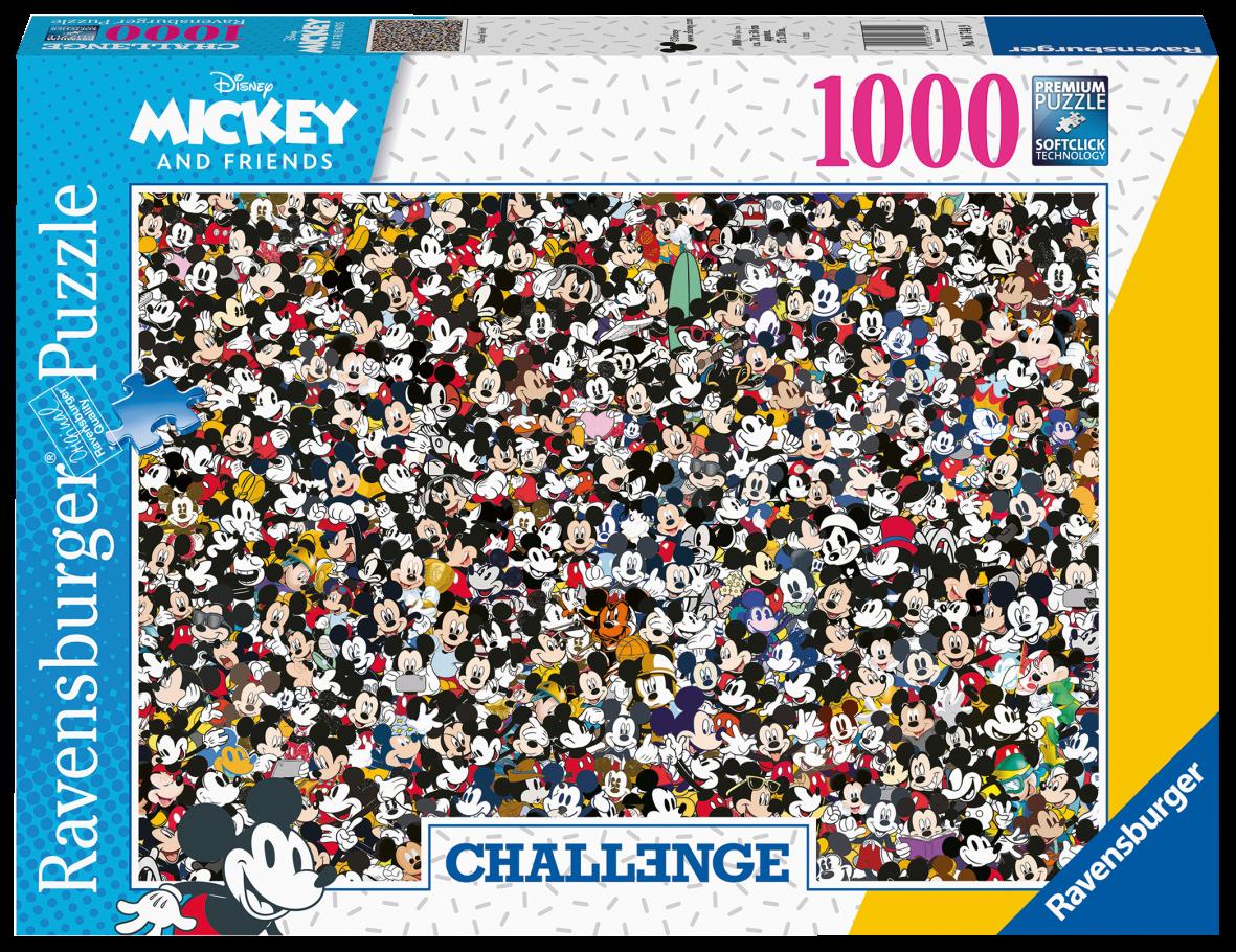 Ravensburger puzzle 1000 pezzi - challenge mickey - Ravensburger1