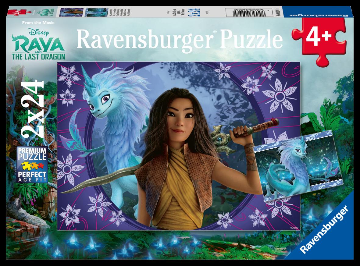 Ravensburger 2x24 pezzi - raya - Ravensburger1