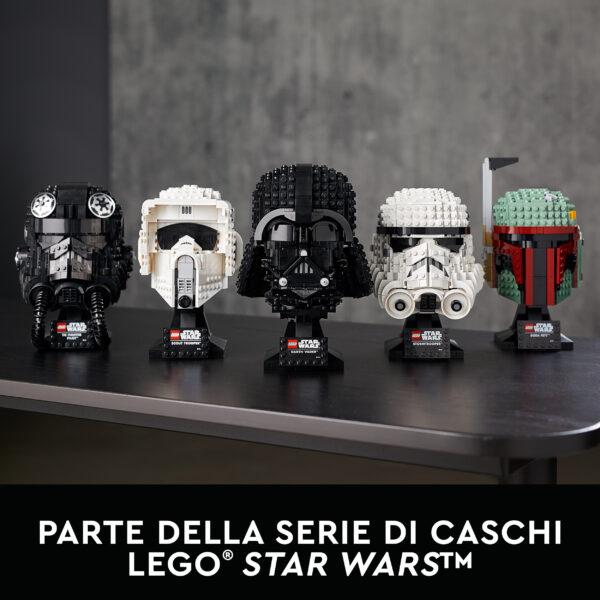 Lego   LEGO Star Wars Casco da Scout Trooper, Set da Costruzioni per Adulti, Regalo da Collezione, 75305