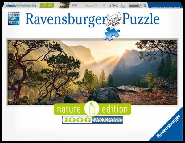 RAVENSBURGER PUZZLE 1000 PEZZI -  PANORAMA: PARCO YOSEMITE Ravensburger1