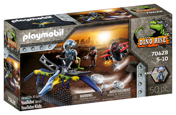 PTERODATTILO: ATTACCO DAL CIELO Playmobil
