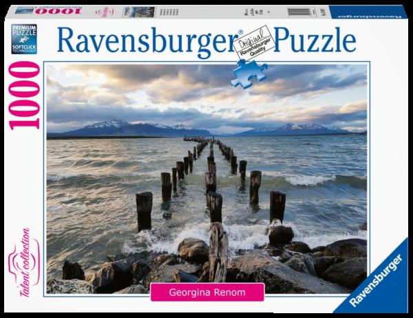 RAVENSBURGER PUZZLE 1000 PEZZI - PUERTO NATALES, CILE Ravensburger1