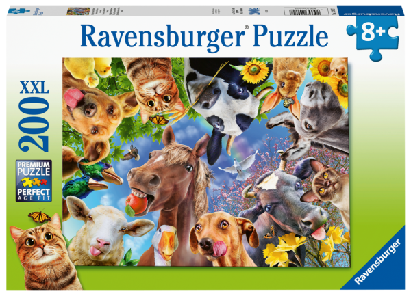RAVENSBURGER   200 PEZZI - DIVERTENTI ANIMALI FATTORIA Ravensburger1