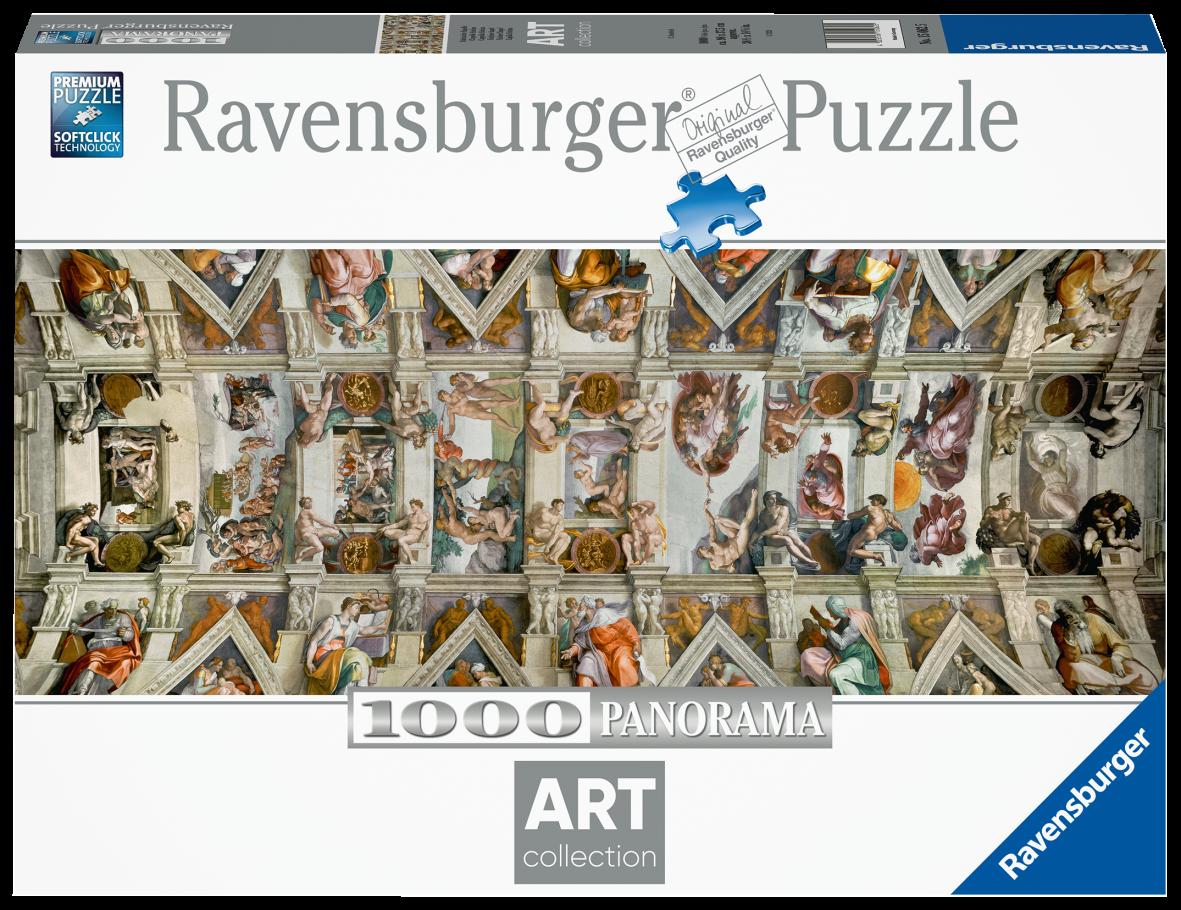 Ravensburger puzzle 1000 pezzi - volta della cappella sistina - Ravensburger1