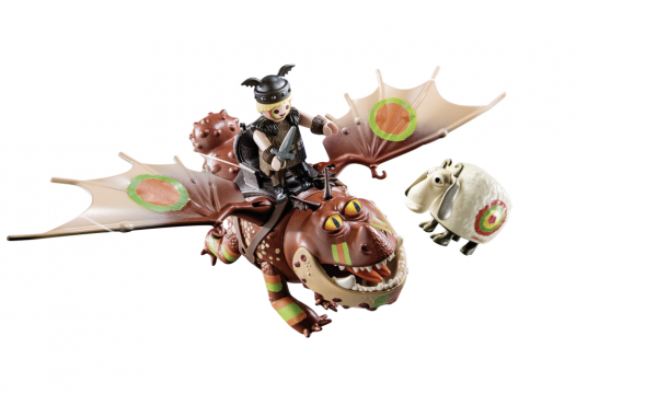 DRAGONS RACING: GAMBEDIPESCE E MUSCOLONE    Playmobil