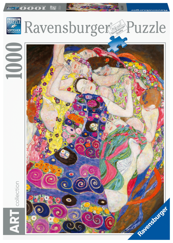 RAVENSBURGER PUZZLE 1000 PEZZI - KLIMT : LA VERGINE Ravensburger1