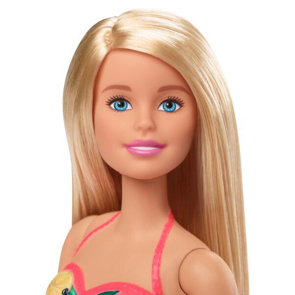 Barbie- Playset Bambola Bionda con Piscina e Accessori, 3+Anni    Barbie