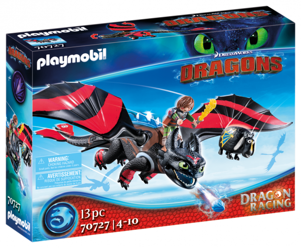 DRAGONS RACING: HICCUP E SDENTATO Playmobil