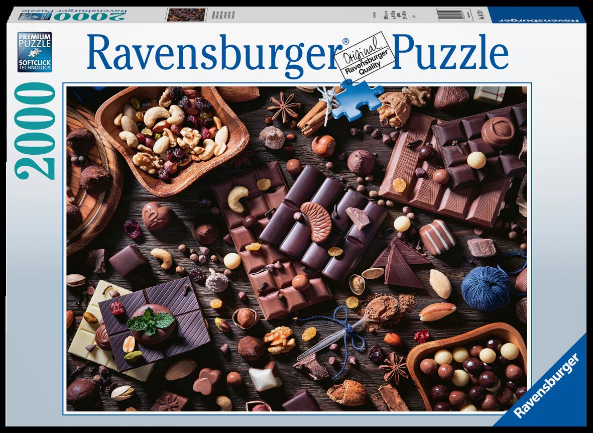 Ravensburger 2000 pezzi - paradiso di cioccolata - Ravensburger1