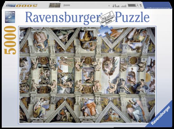 RAVENSBURGER PUZZLE 5000 PEZZI - CAPPELLA SISTINA Ravensburger1
