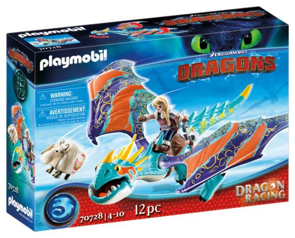 DRAGONS RACING: ASTRID E TEMPESTOSA Playmobil