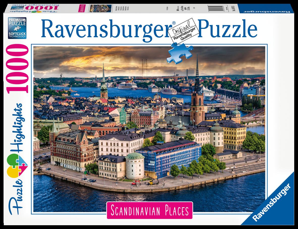 Ravensburger puzzle 1000 pezzi - stoccolma, svezia - Ravensburger1