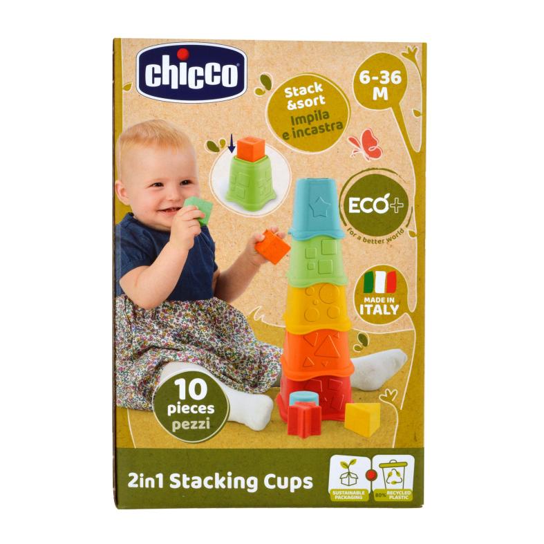 Tazze impilabili 2in1 eco+ - Chicco