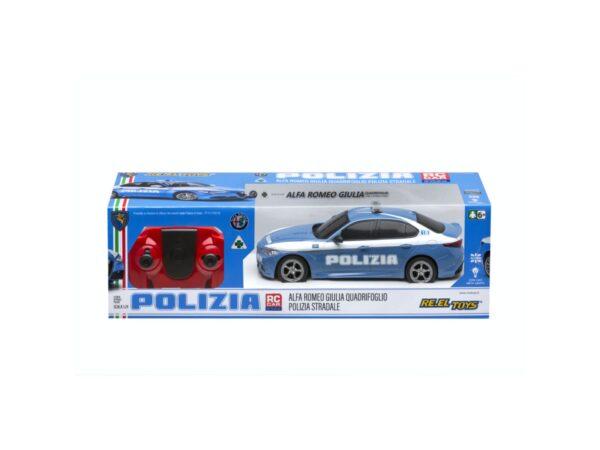 ALFA ROMEO GIULIA DELLA POLIZIA RE-EL Toys
