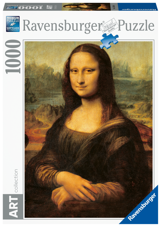 Ravensburger puzzle 1000 pezzi - la gioconda - Ravensburger1