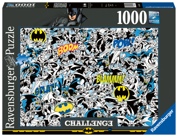 RAVENSBURGER PUZZLE 1000 PEZZI -  CHALLENGE BATMAN Ravensburger1