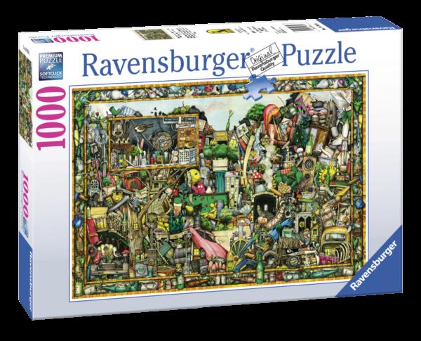 RAVENSBURGER PUZZLE 1000 PEZZI - I TESORI DI UNA VOLTA Ravensburger1