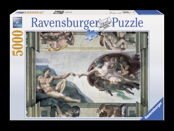 RAVENSBURGER PUZZLE 5000 PEZZI - LA CREAZIONE DI ADAMO Ravensburger1
