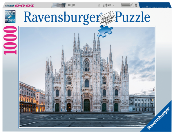 PUZZLE 1000 PEZZI RAVENSBURGER MILANO DUOMO Ravensburger1