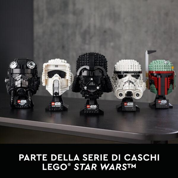 LEGO Star Wars Casco di Darth Vader, Set da Costruzioni per Adulti, Regalo da Collezione, 75304    Lego