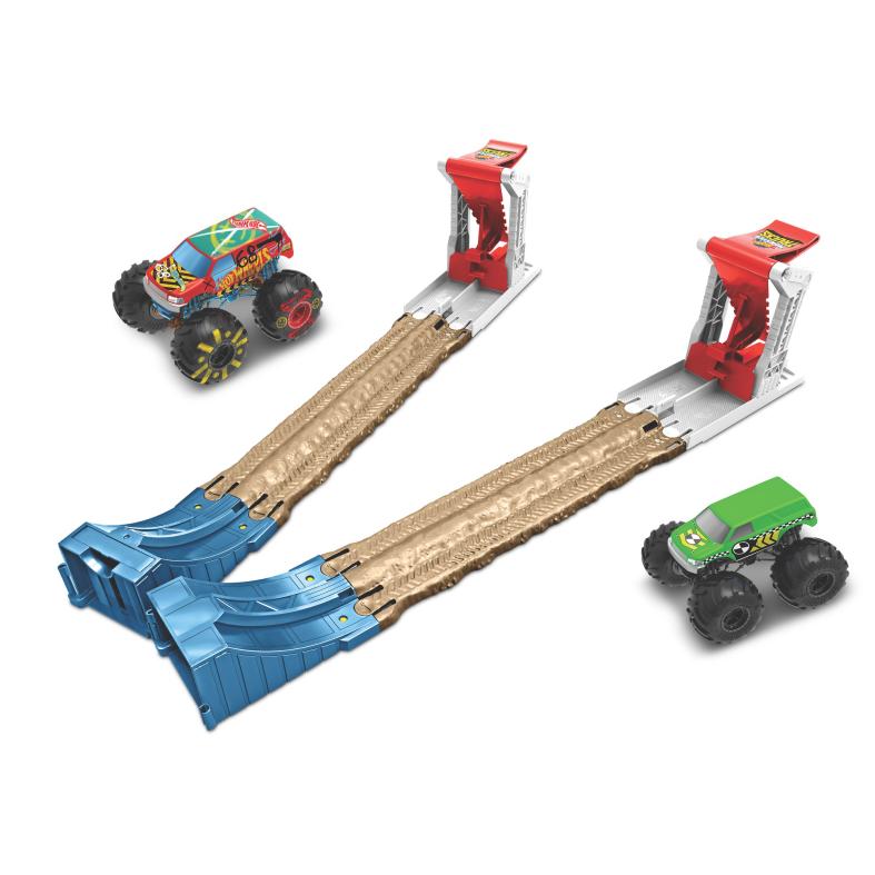 Hot wheels monster trucks doppia distruzione , giocattolo per bambini - Hot Wheels