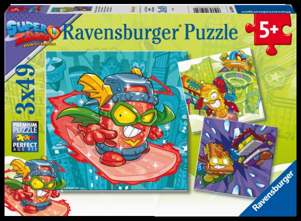 RAVENSBURGER 3X49 PEZZI - SUPER ZINGS Ravensburger1
