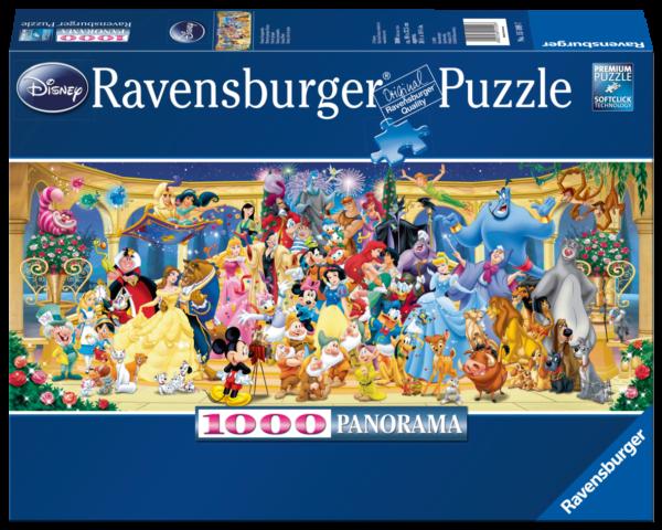 RAVENSBURGER  PUZZLE 1000 PEZZI : PANORAMA - PERSONAGGI DISNEY Ravensburger1