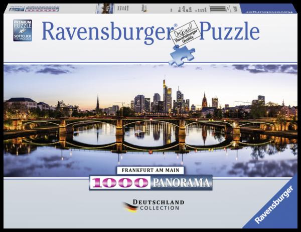 RAVENSBURGER PUZZLE 1000 PEZZI - FRANKFURT Ravensburger1