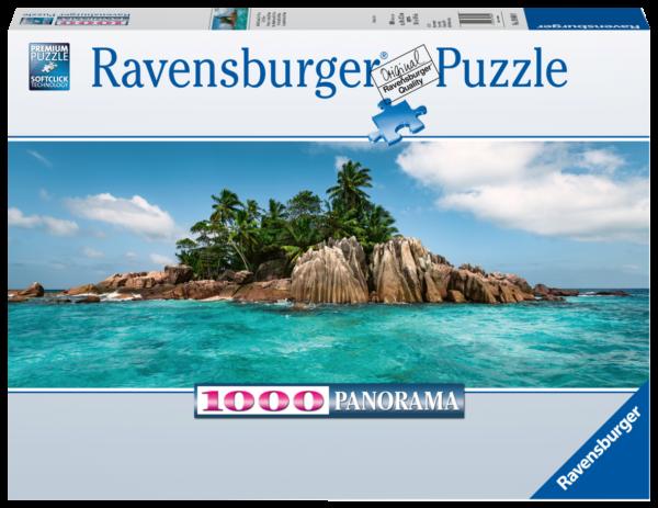 RAVENSBURGER PUZZLE 1000 PEZZI - PRONTO PER ISOLA DI SANT PIERRE Ravensburger1
