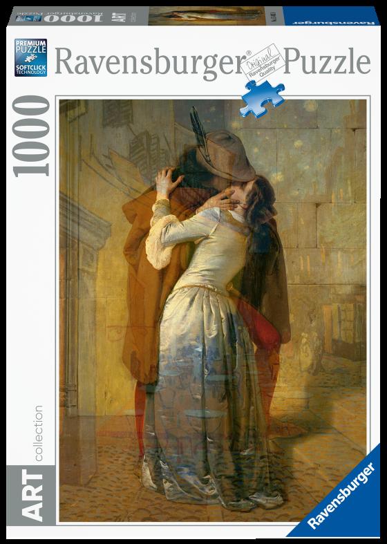 RAVENSBURGER PUZZLE 1000 PEZZI - VAN GOGH: NOTTE STELLATA Ravensburger1