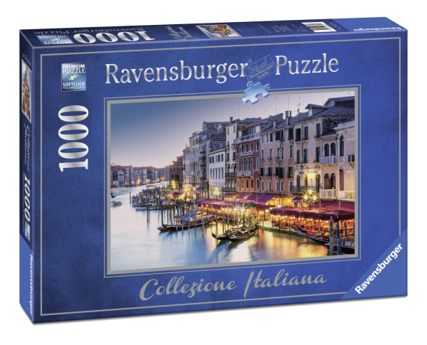 RAVENSBURGER PUZZLE 1000 PEZZI - VENEZIA Ravensburger1