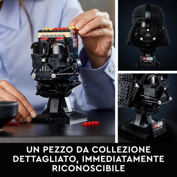 Lego   LEGO Star Wars Casco di Darth Vader, Set da Costruzioni per Adulti, Regalo da Collezione, 75304
