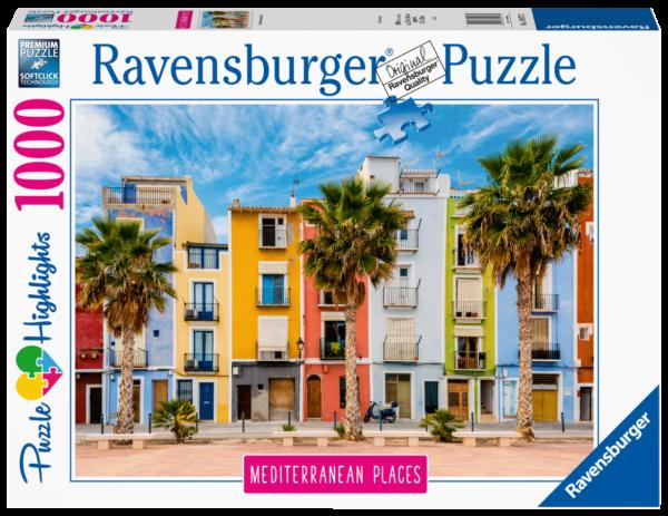 RAVENSBURGER PUZZLE 1000 PEZZI - MEDITERREAN SPAIN Ravensburger1