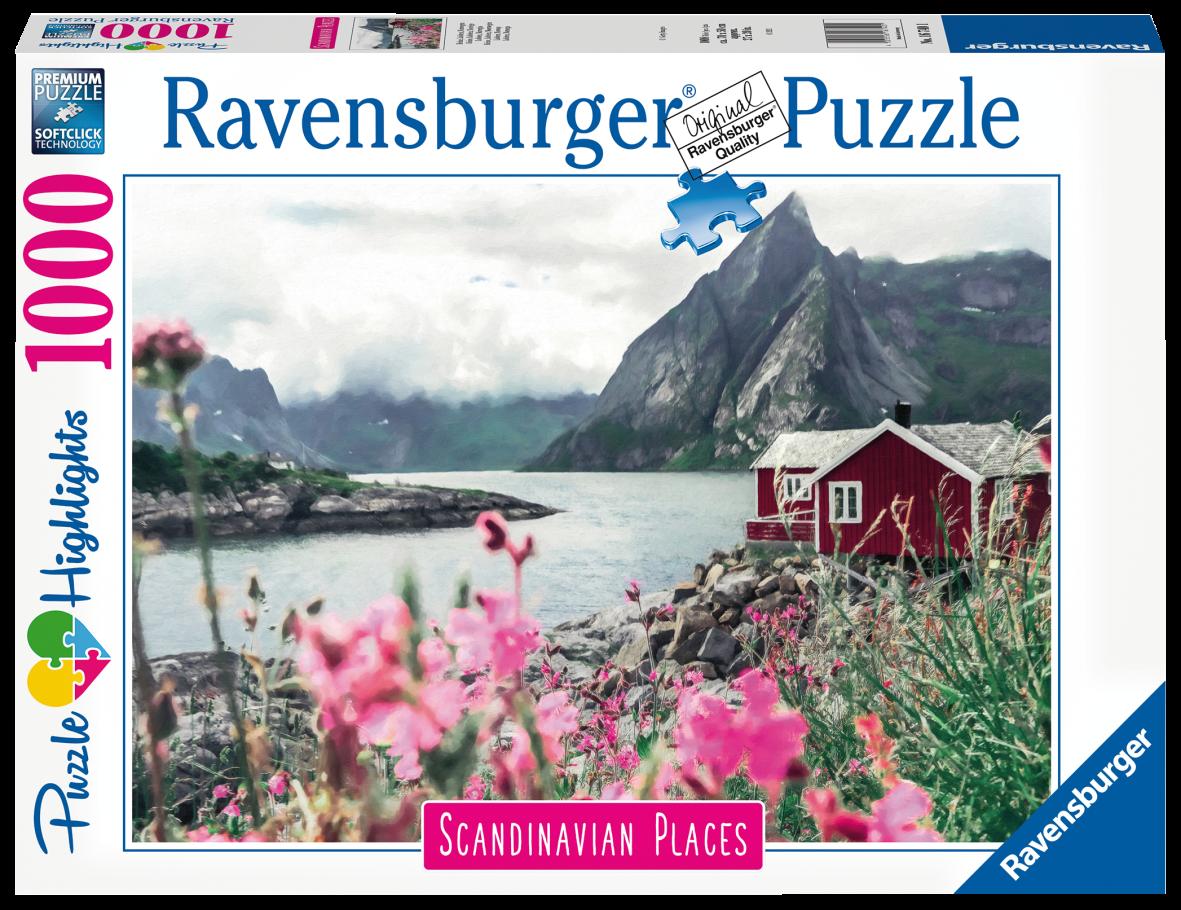 Ravensburger puzzle 1000 pezzi - lofoten, norvegia - Ravensburger1